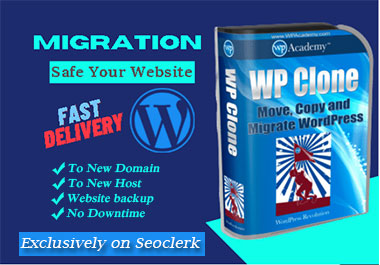 backup,  migrate,  transfer,  restore word press website