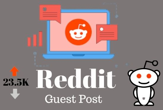 Do effective promotion for your website by 5 high authority guest post on Reddit