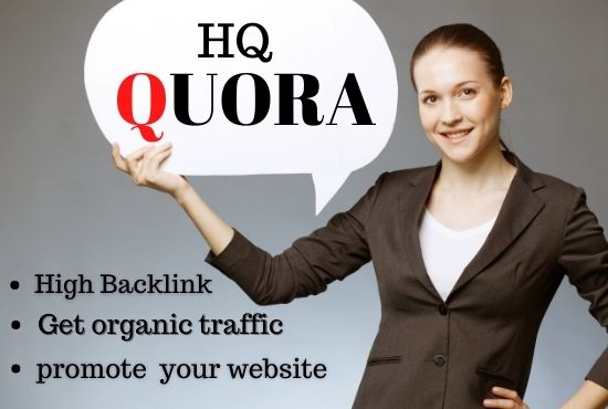 Promote your Website on 10 QUORA Backlink Answers for Getting Traffic