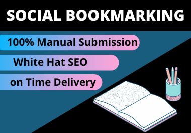 25 Social Bookmarks High Authority permanent do follow backlink