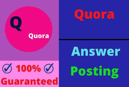 Guaranteed Targeted Traffic Your Website With 10 High Quality Quora Answer