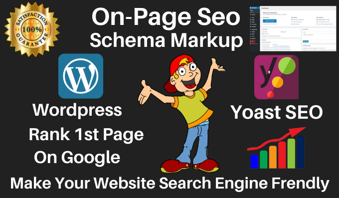 I will Provide WordPress yoast SEO on page optimization with schema markup