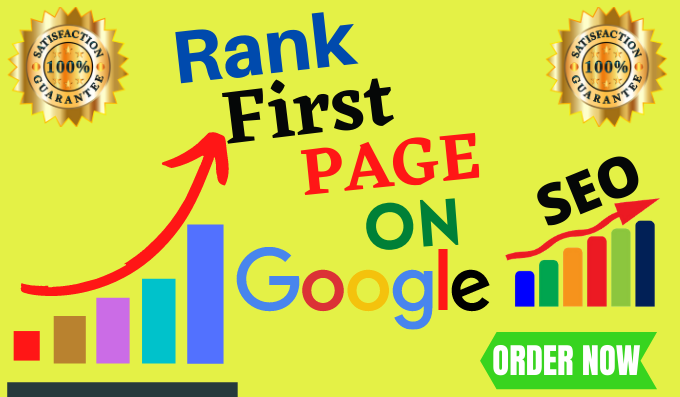I will offer for you Guaranteed Google First page Ranking with best link-Building service