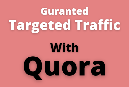 I will promote your website with 20 quora answer