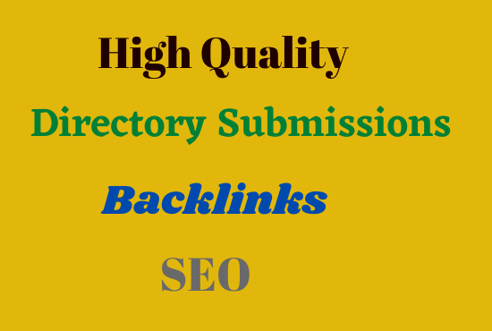 Create 20 Best Quality Directory Submission Backlinks