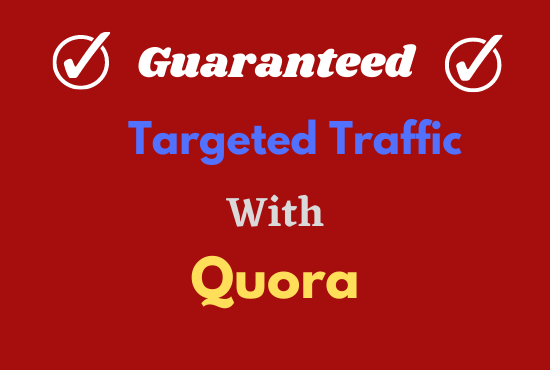 I will provide Your website with 20 Quora answers: