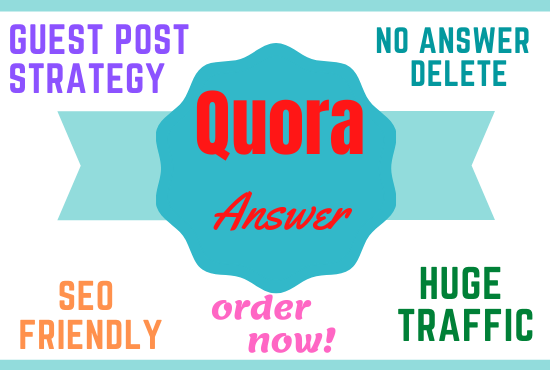 10 Guest Post Strategy Quora Answer for More Organic Traffic