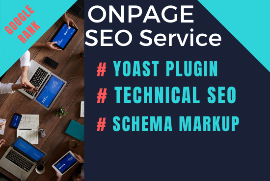 I will do Professional Onpage SEO & Schema Markup
