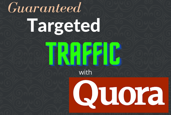 Providing 20 HQ Quora Answer with Backlink for your website