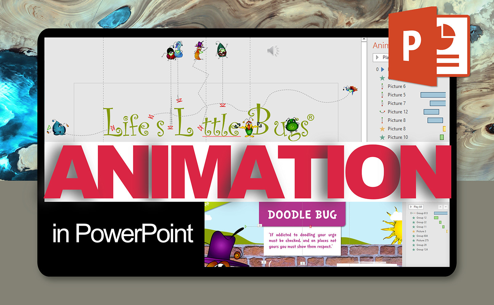 I will make professional animation for powerpoint presentation