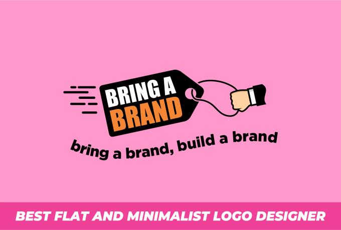 I will do creative minimalist simple business logo design
