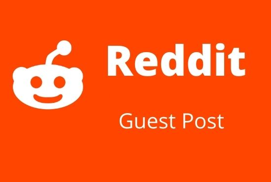 Promote your website 20 high quality reddit guest post