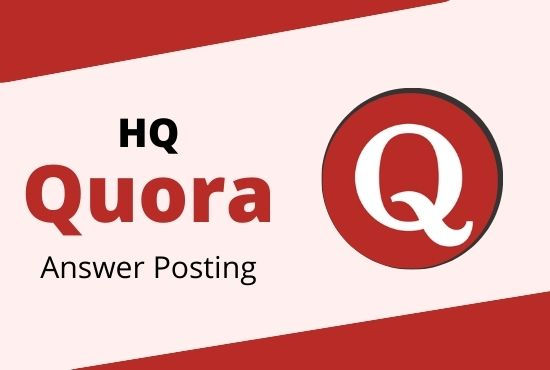 I will do Boost your website in 20 Quora Answers with a contextual link