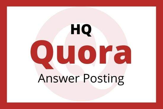 Guaranteed Targeted Traffic Your Website With 3 High Quality Quora Answer