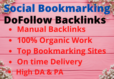 30 Social Bookmarking Contextual Authority Backlinks