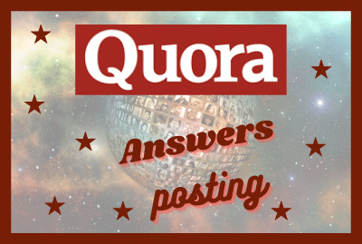 Providing 20 Quora Answer with Backlink for your website
