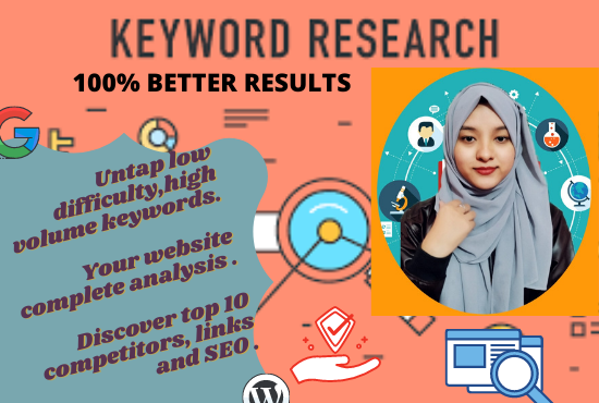 I will provide best keyword research to rank your site fast