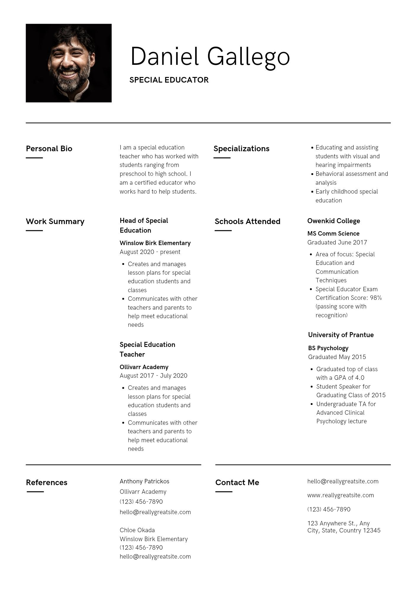 I will design a CV or Resume for job