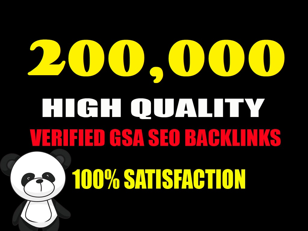 provide 200K GSA ser Backlinks for link Juice,  Ultimate SEO