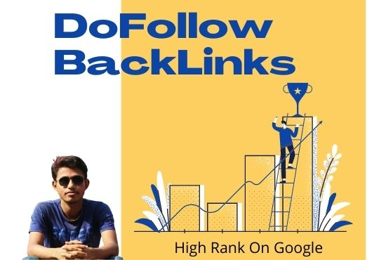 I will do SEO high DA PA DoFollow backlinks with google indexer