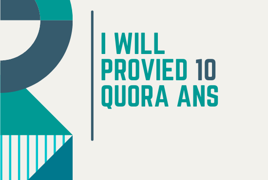 I will promote your website by Quora Answers