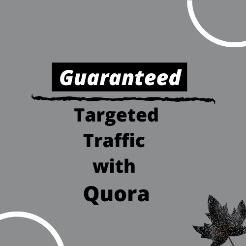 Get HQ 10 Quora Answer & backlink