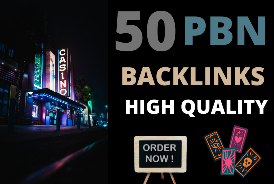 50 powerful casino gambling poker betting high quality pbn backlinks for ranking