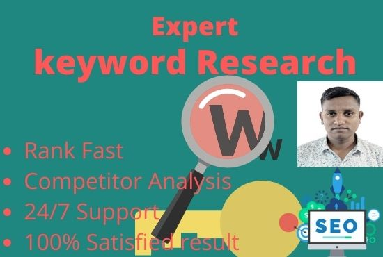 I will you provide keyword research and competitor analysis