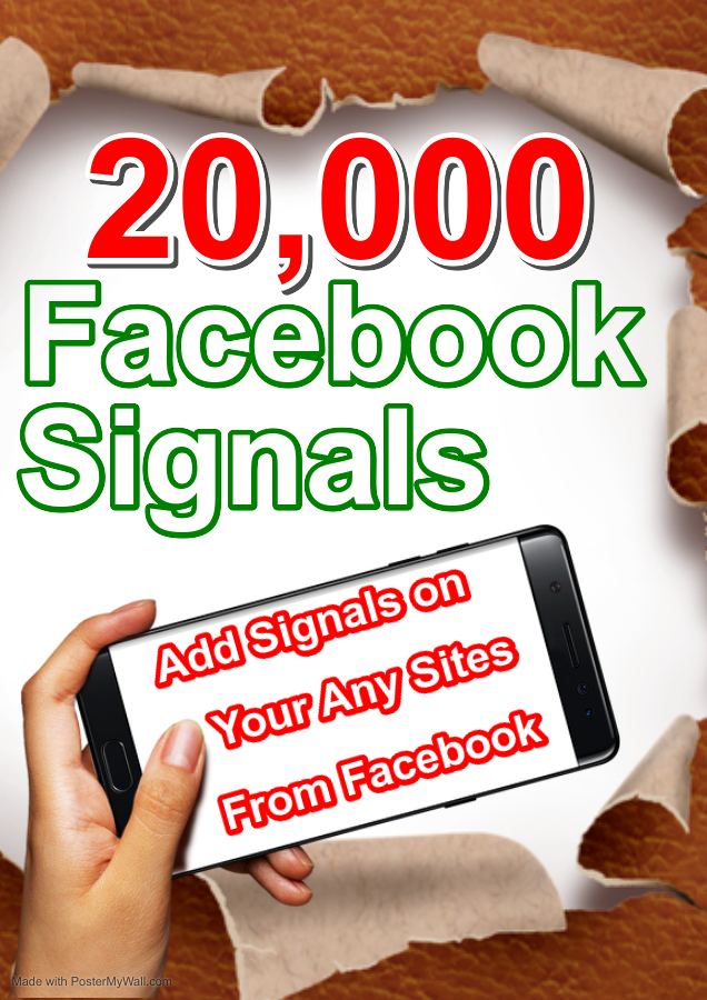 Buy 20,000 Seo social signals Grow Your Sites