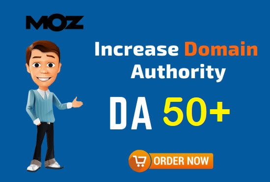 I will increase your sites Moz DA 50+ in just 20 days for UK USA Germany Canada Indonesia etc.