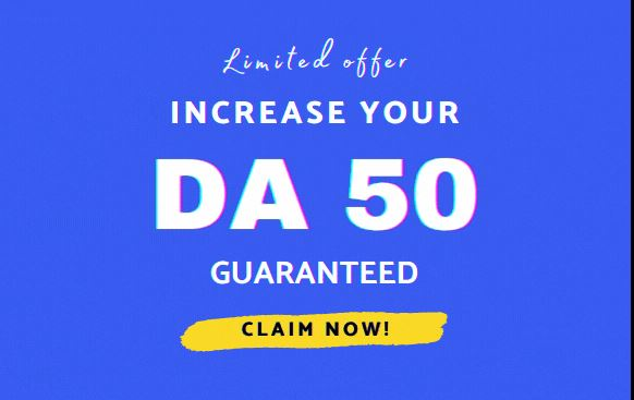 Sale - Guaranteed in 2021 Boost Your DA Moz DA to 50+ Domain Authority