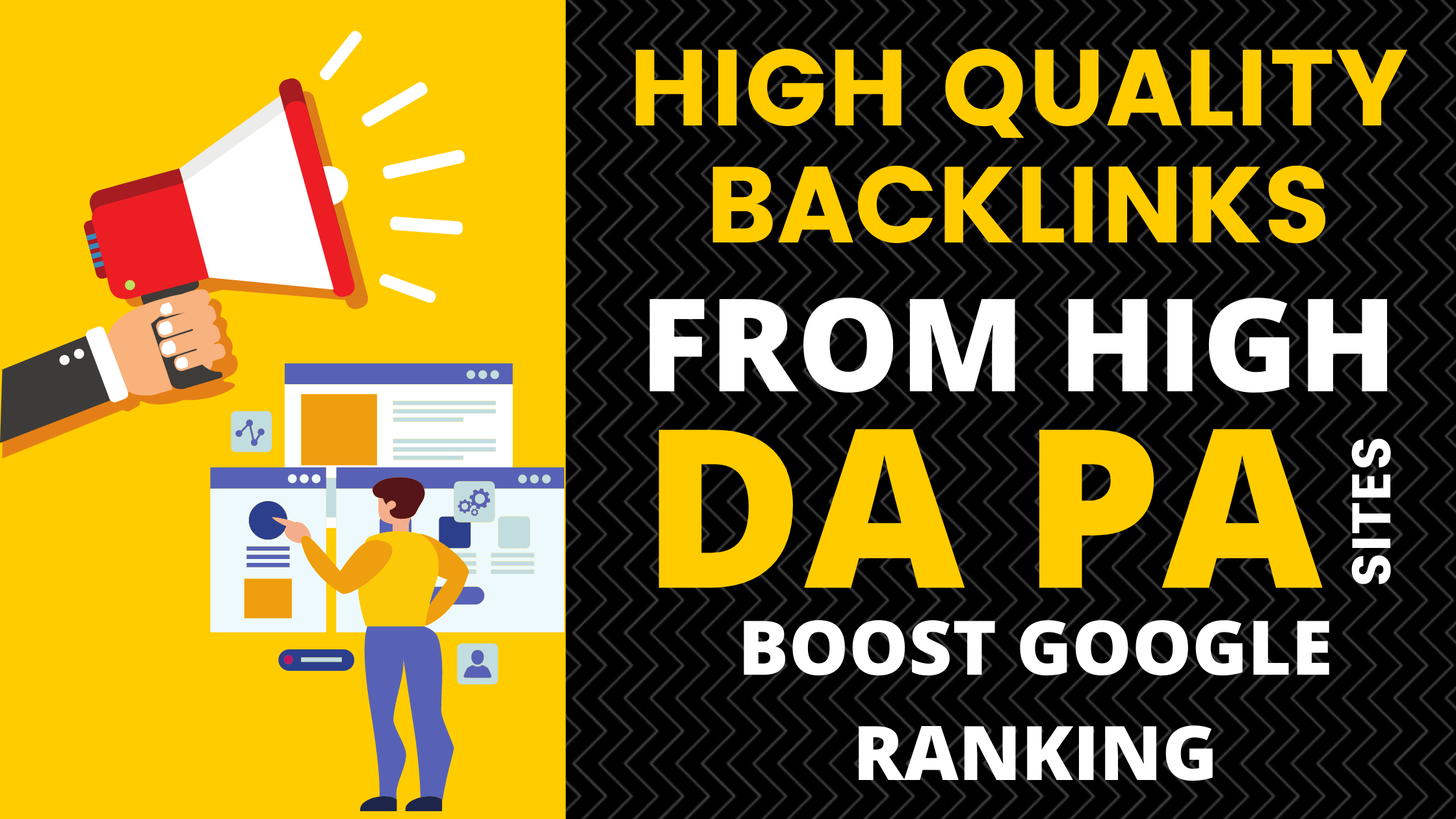 Build High Quality Dofollow Backlinks from High DA PA Sites and Boost Google Ranking