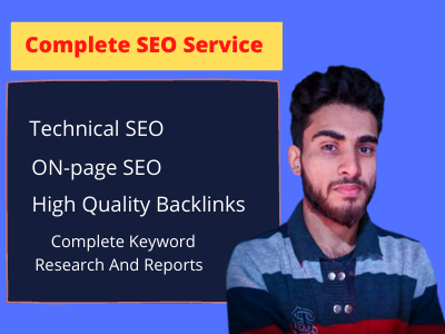 I Will Provide Complete Monthly SEO Service For Top Google Ranking and quality backlinks