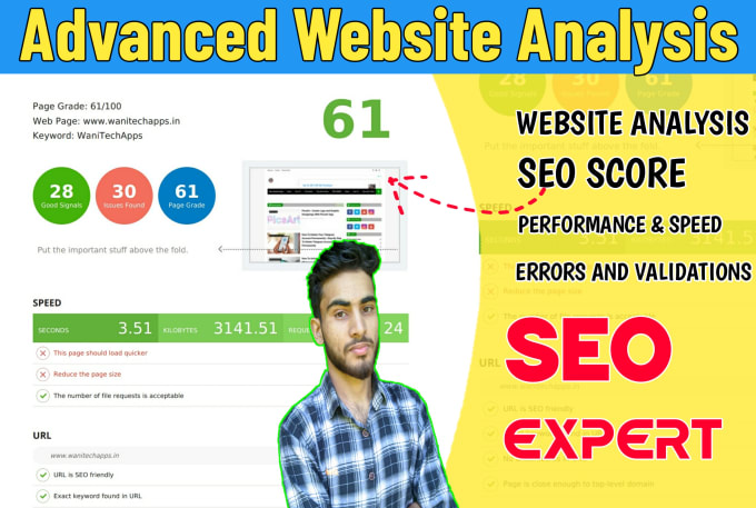 Complete Website SEO Audit And Technical SEO Analysis Report