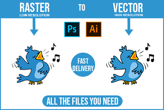 I will convert raster to vector