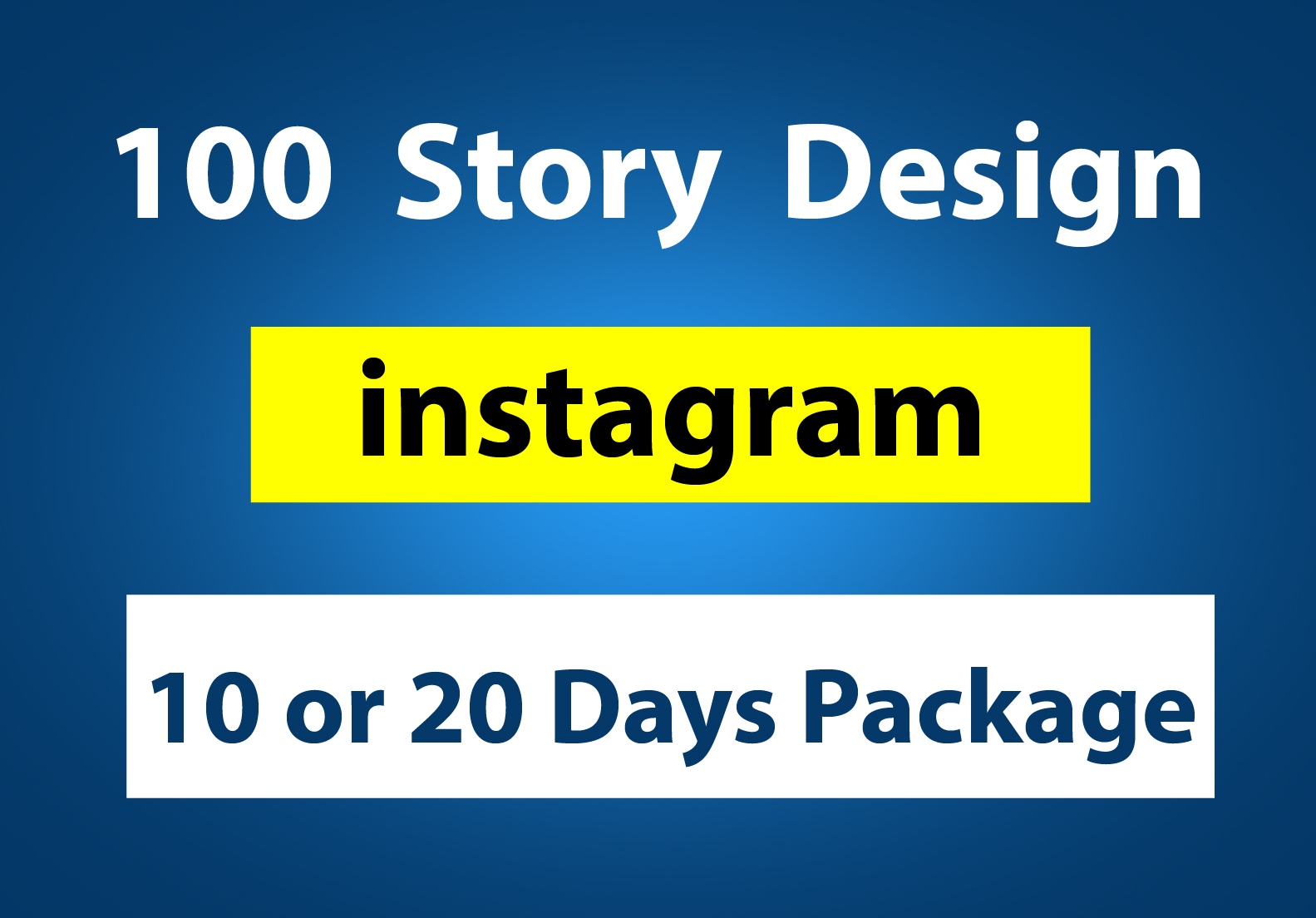 I will design instagram story design