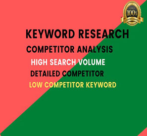 I will provide unique keyword and low competitor for Google rank