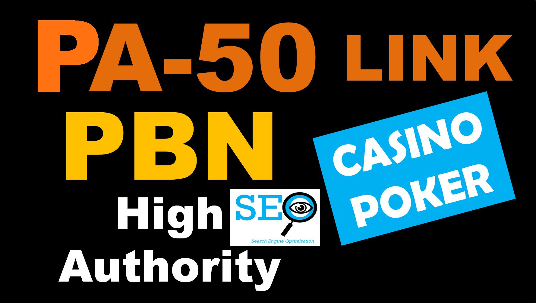 PBN - 50 JUDI BOLA,  CASINO,  POKER,  GAMBLING,  PBNs Post Boost Website Ranking