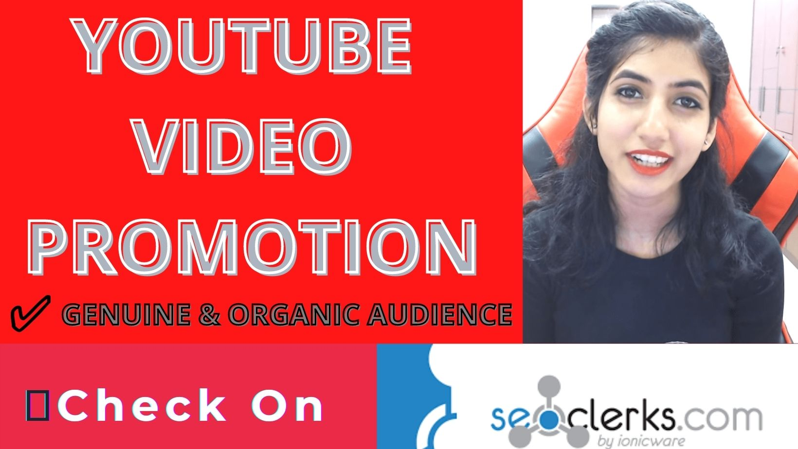 Promotion to your youtube video for natural reach
