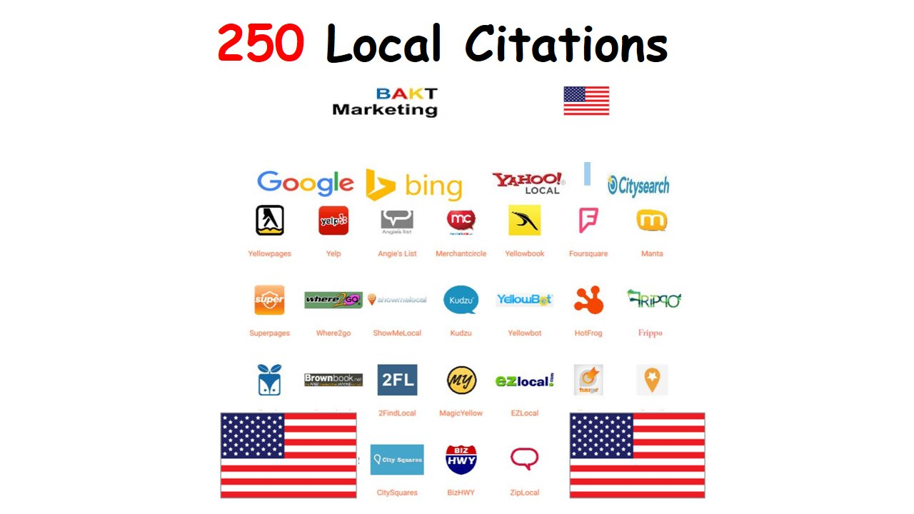 I will best 250 top USA local citations