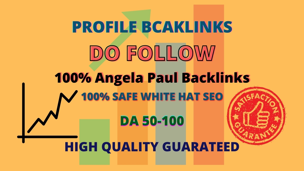 Get 100 Angela Paul Profile backlinks for SEO