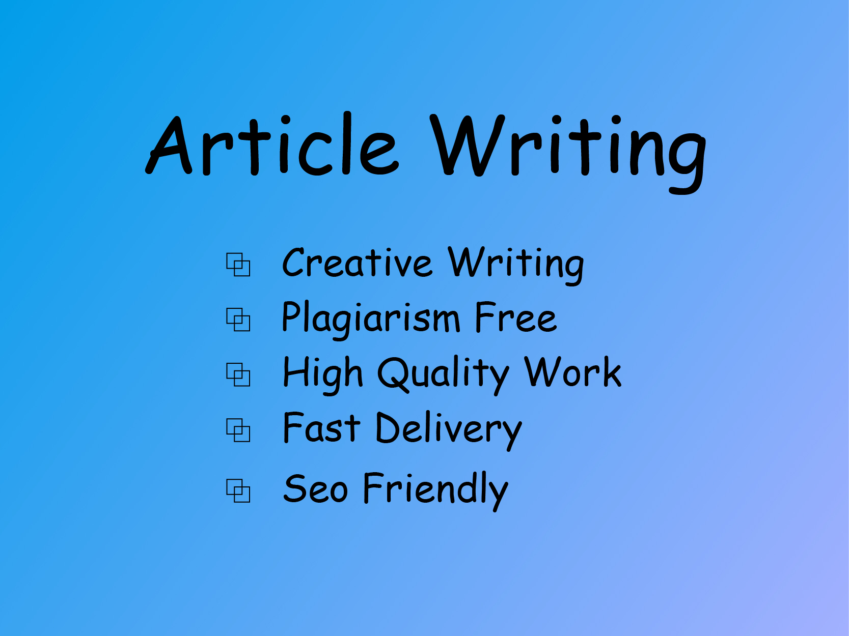 1500+ Words Smart and creative Article Writing