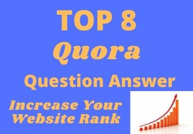 I will prompt you 8 High-Quality Quora answer with the backlink
