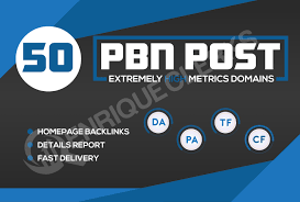 I will manually create 50 pbn backlinks with high domain authority