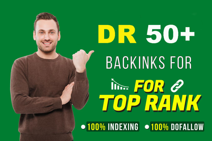 Get 100 Permanent DR 50+ Homepage PBN Dofollow Backlink