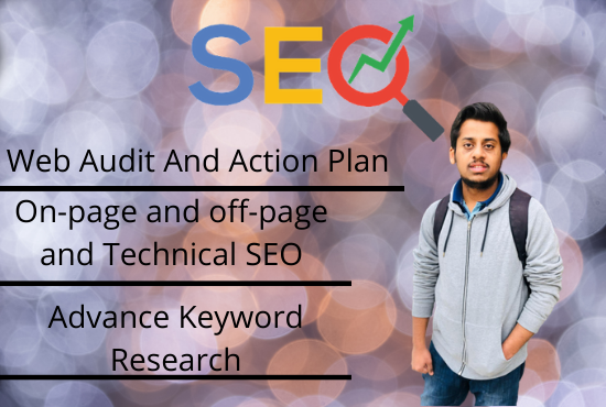SEO Service with Audit Report and Backlinks