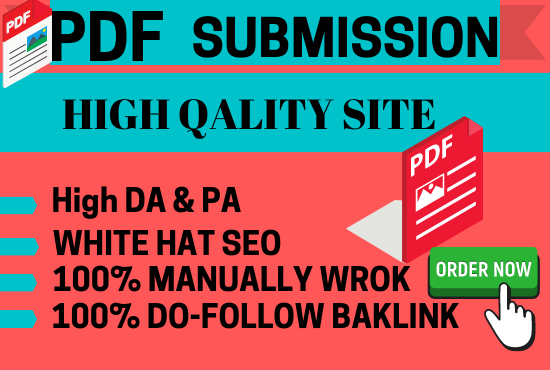 Build 30 manual PDF submission on top document sharing sites
