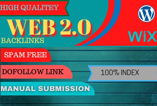 I will build 30 web 2.0 backlinks