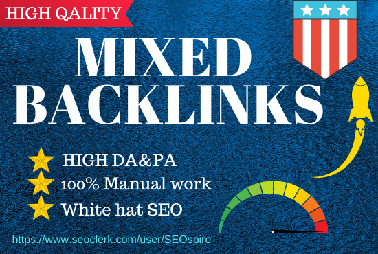 Build 30 high Authority Mixed Backlinks in google sites