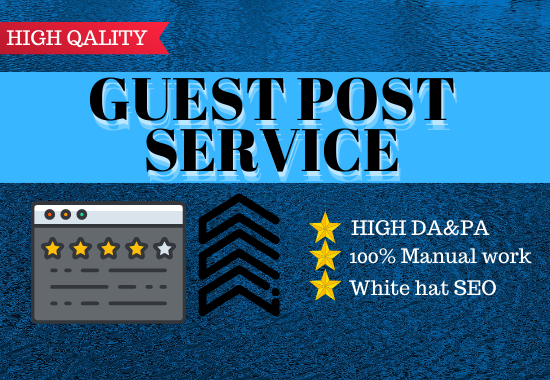 Build 10 high Authority Guest post in google sites